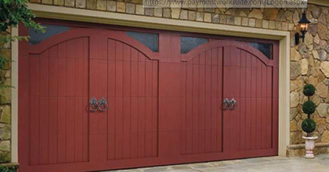 door, wood, garage