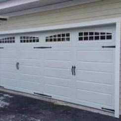 double garage, door, service
