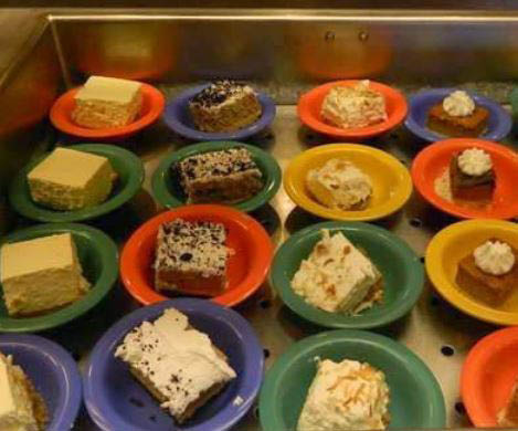 photo of dessert buffet at All American Buffet in Southgate, MI