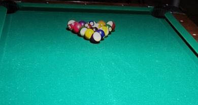 Picture of pool table at The All Around Bar in Taylor