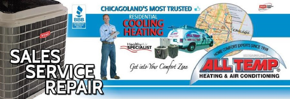 All Temp Heating & Air Conditioning Chicagoland, IL banner