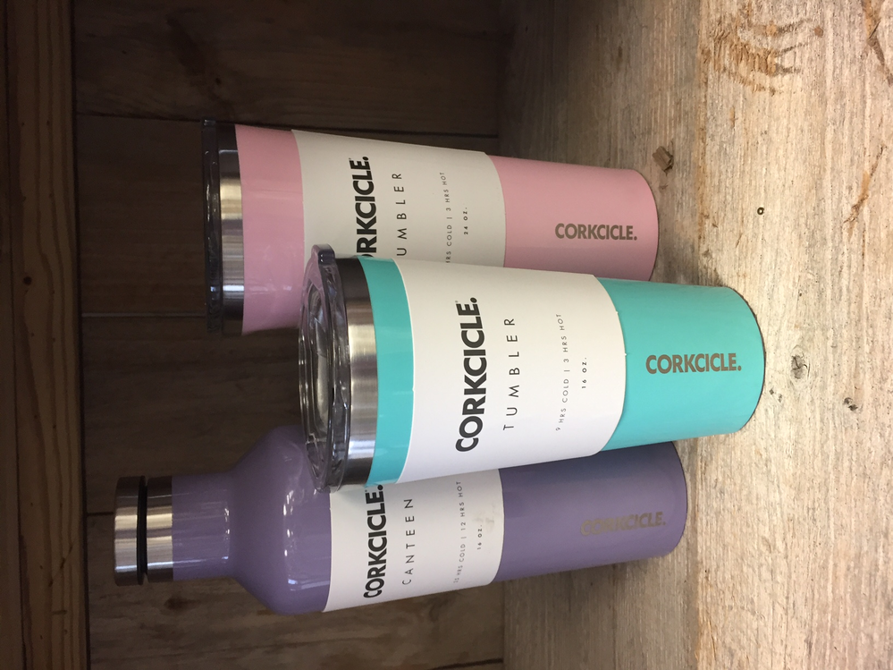 Assorted wine cooler tumblers by Corkcicle