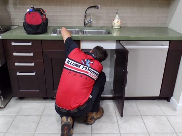 Plumbing services for Waipahu