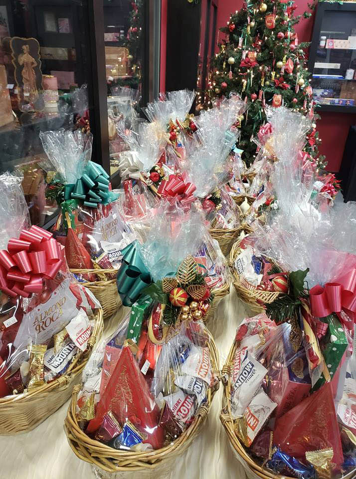 Almond Roca - Gift Baskets for the holidays - Brown & Haley Almond Roca Factory Outlet Store in Tacoma, WA - Almond Roca Gift Shop in Fife, WA