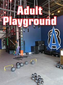 Adult fitness equipment