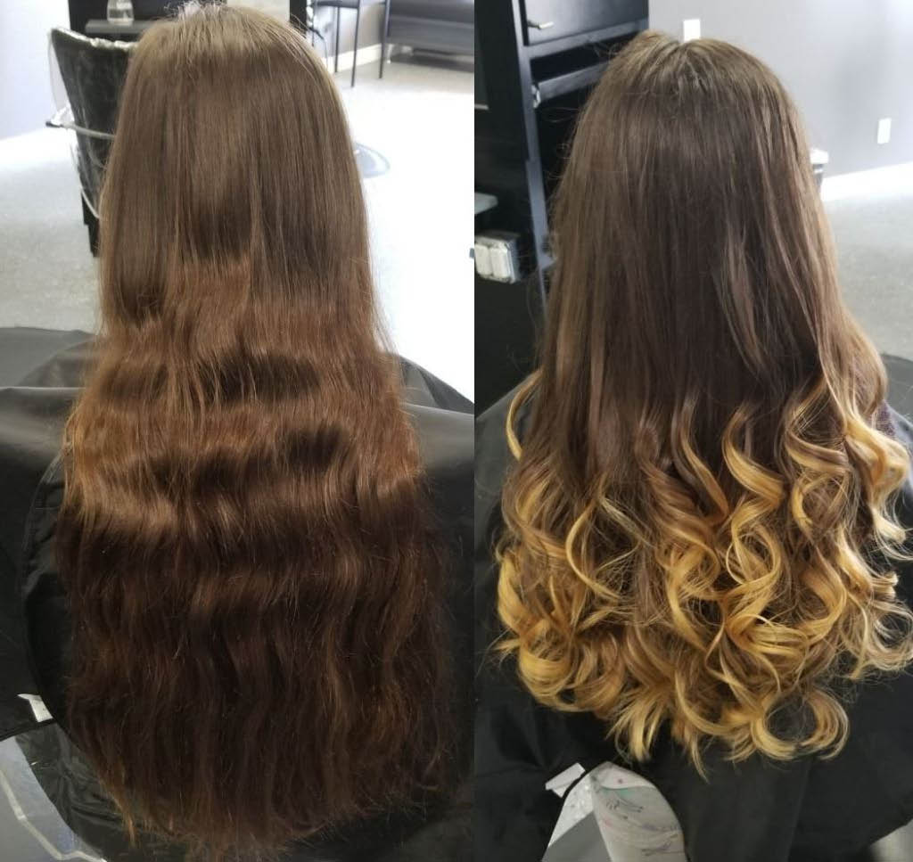 Ombre Tinted Blond