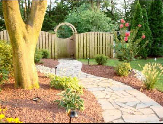 Exterior lawn design and law services done by specialists at Amato's Garden Center in south brunswick, nj