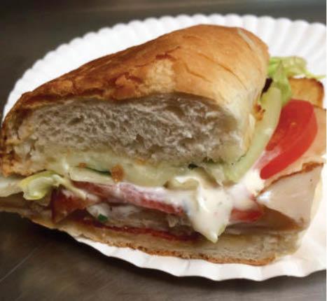 Overstuffed sandwiches from American Pie Pizza near Edina