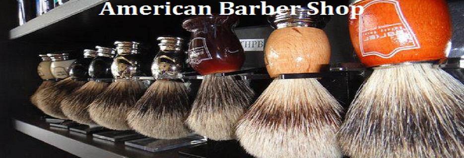 American Barber Shop in Cummings, Georgia banner