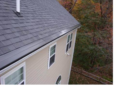 Gutter Cap provided by American Gutter Cleaning & Installations in Tewskbury MA