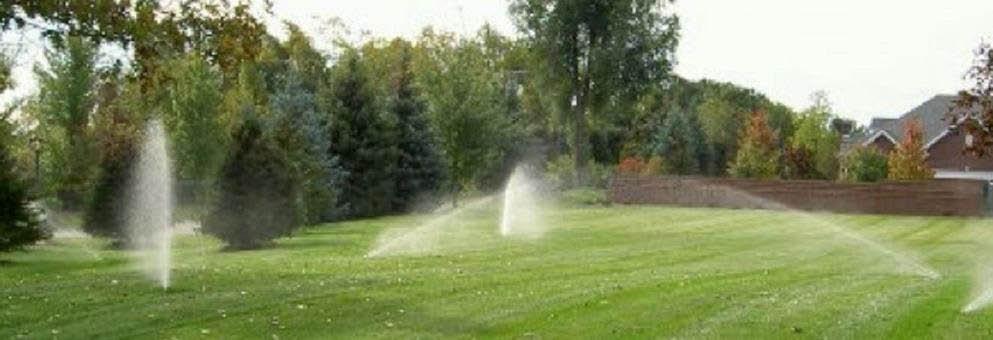 photo of sprinklers installed by American Lawn Sprinkler in Dryden, MI
