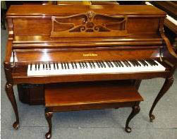 We also maintain an organ repair shop, on premise at our warehouse.  In addition, we sell and service  Hammond organs and Lowery organs.  We are also proud to be one of Chicago land's largest piano retailer with two locations to serve the public.