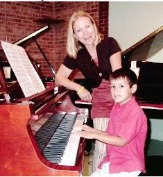 Our Educational Center's unique keyboard courses are renowned for making learning music fun. Children enjoy the wide variety of music.