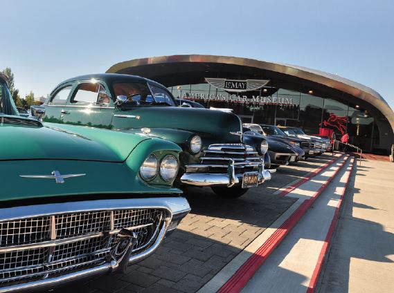 Outside LeMay America's Car Museum - Tacoma, WA - Tacoma museums - Museums in Tacoma, WA