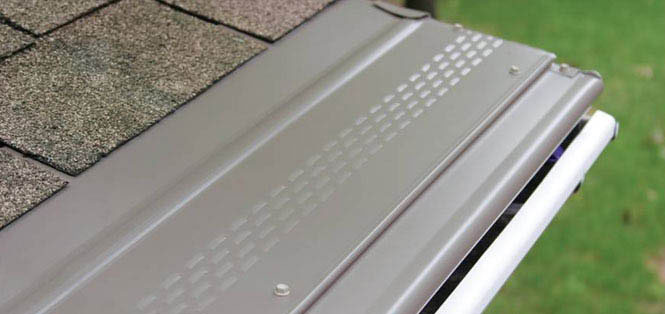 Picture of Gutter Protection from Americas Windows louisville window replacement