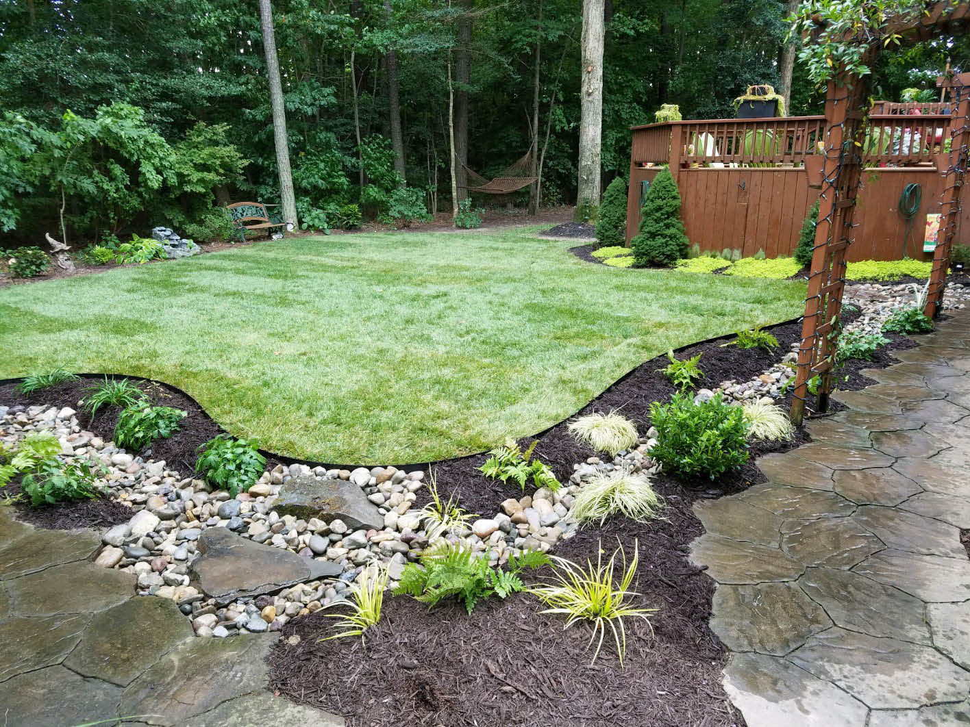 Anderson's Landscaping Services Create Envious Outdoor Living Spaces