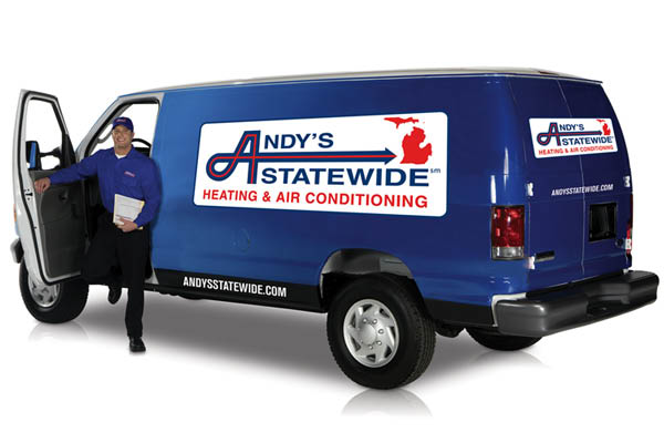 Andy's Statewide Service Van