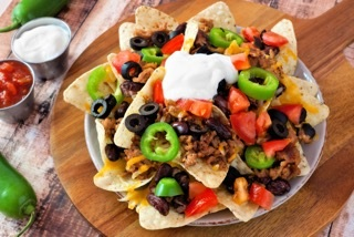 Picture of nachos at Angelina's Mexican Restaurant in Wyandotte