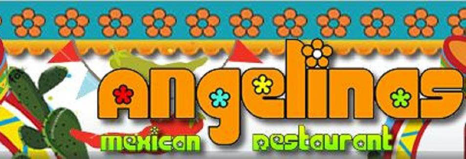 image of Angelina's Mexican Restaurant colorful banner in Southgate, MI
