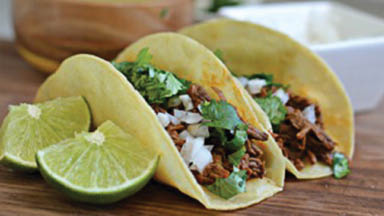 photo of 2 tacos from Angelina's Mexican Restaurant in Southgate, MI and Allen Park, MI
