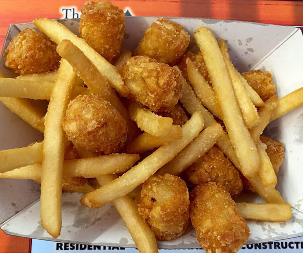 tater tots and fries