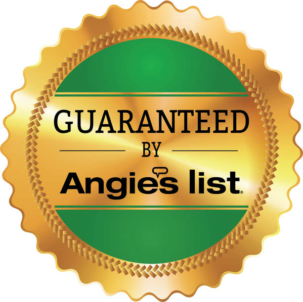 LeafGuard guaranteed by Angie's List