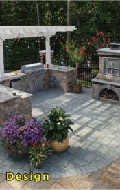 custom, design, backyard, landscape