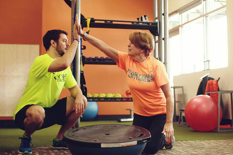 Anytime Fitness Norwalk CT personal trainer