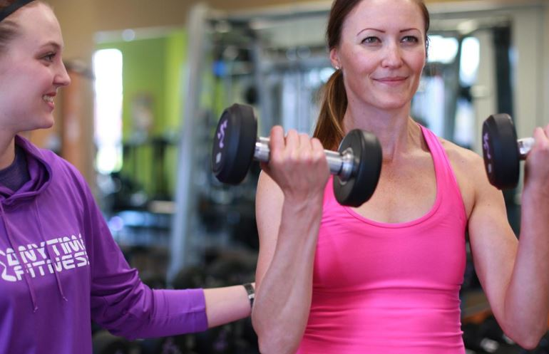 Strength training and personal training at Anytime Fitness - Puyallup, Washington - South Hill
