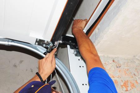 Garage door spring repair service
