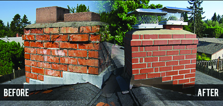 Chimney Repair by AAA Apex Construction in Morristown NJ