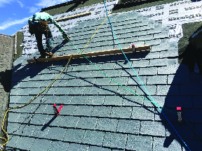 Slate Roofing by AAA Apex Construction in Morristown NJ