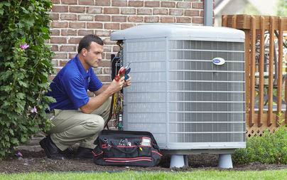 photo of Air conditioning technician from Arbor Breeze Heating & Cooling in Ann Arbor, MI