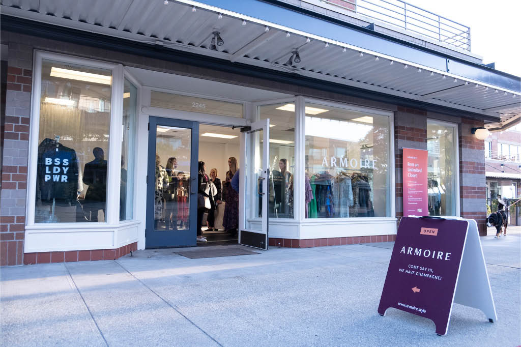 Visit our Armoire Boutiques in Seattle, WA and Kirkland, WA - clothing stores near me - clothing rental near me