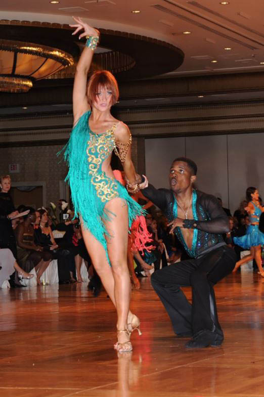 Beautiful dance positions display grace and elegance