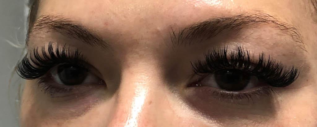 Eyelash extensions by Artsy Lash by BX Lashes in Torrance, California