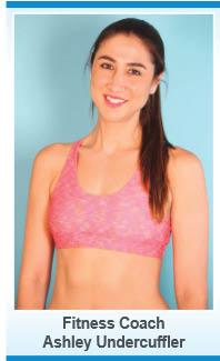 Ashley Undercuffler, fitness coach