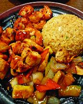 Hibachi Vegetable  Hibachi Chicken Hibachi Steak Hibachi Shrimp Hibachi Scallop  Hibachi Combo