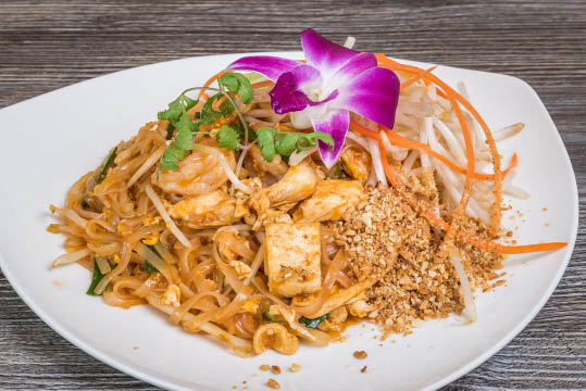 Delicious Pad Thai at Atcha Thai Bistro of El Cerrito, CA