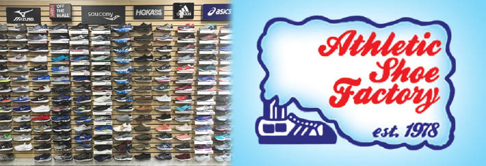 Athletic Shoe Factory, Fairfield and New Canaan, CT banner