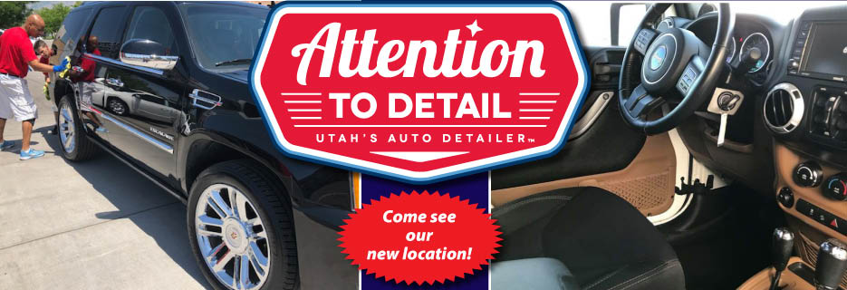 Ogden's Premier Auto Detail shop, We service all makes and models, sizes and levels of dirtiness.