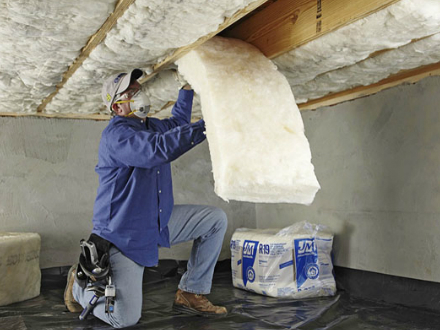 Attic Perfect servicing the Bay Area with crawl space sheet insulation