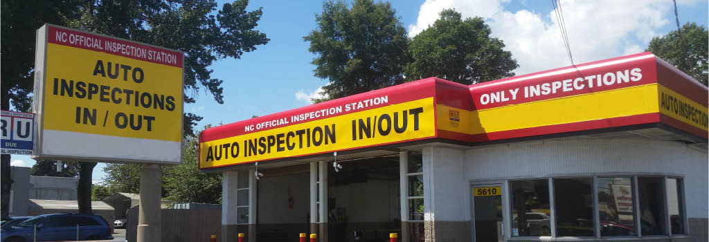 no appointment, north Carolina inspection, inspection sticker