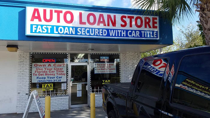 Auto title pawn near Dania Beach