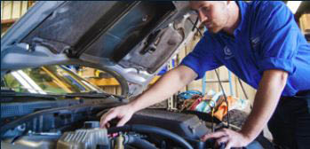 photo of mechanic at Automotive Physicians in Shelby Township, MI