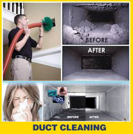 We also perform duct cleaning to help keep allergens down. N.A.T.E certified, E.P.A certified, state licensed, factory trained.