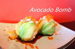 Avocado Bomb at Hana Sushi Japanese Restaurant near Bradenton
