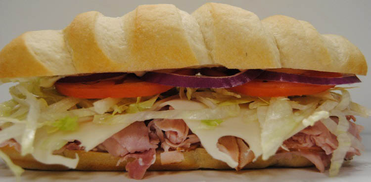 subs, gas, wraps, wings, ice cream, donuts, beer, liquor