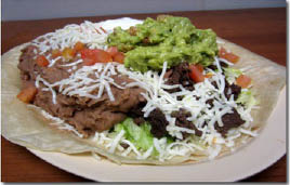 Burrito Bravo Mexican restaurant has the best, traditional burrito for the Mexican food junkie. Our burrito plate and open face burrito offer other ways to enjoy our delicious burritos either dine-in or carry-out in Rockford, Loves and Machesney Park.