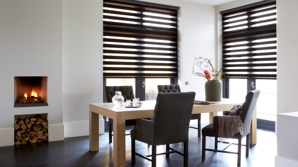 budget blinds dining room